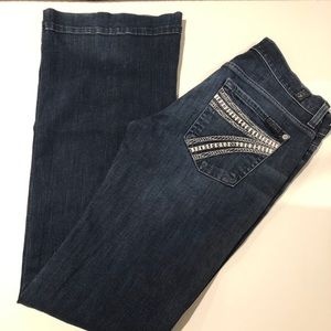 7 for all mankind Dojo jeans size 27 (B2#18)